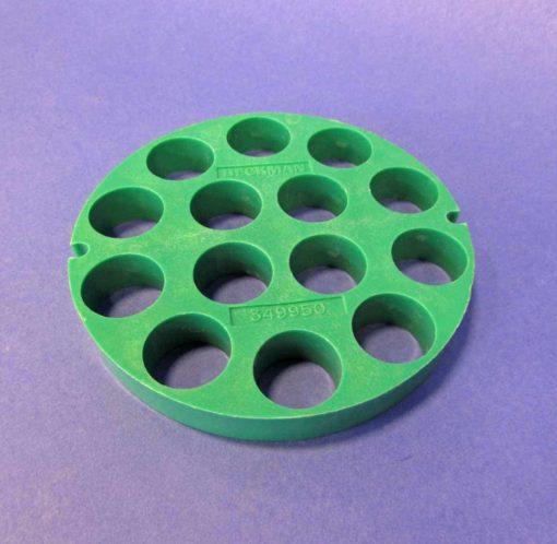 image 1326 5 684 510x498 - Beckman Adapter Disk, 15ml, 18mm, Green 349950