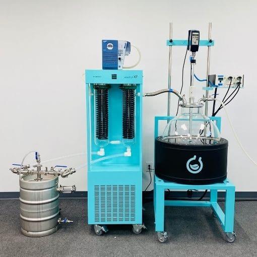 UHPLC 8 - EcoChyll X7 High Speed Rotary Vacuum Evaporator - 50L